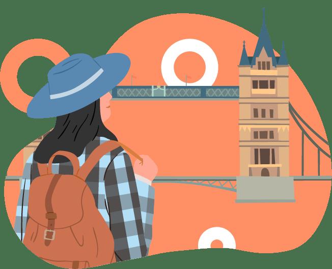 viajes en inglés por clasing